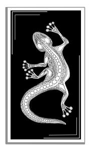 Monochrome Gecko