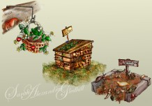 Bug hotel & Compost Resaurant